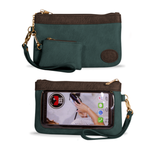 Save The Girls Catchy Clutch - Blue Green Bay