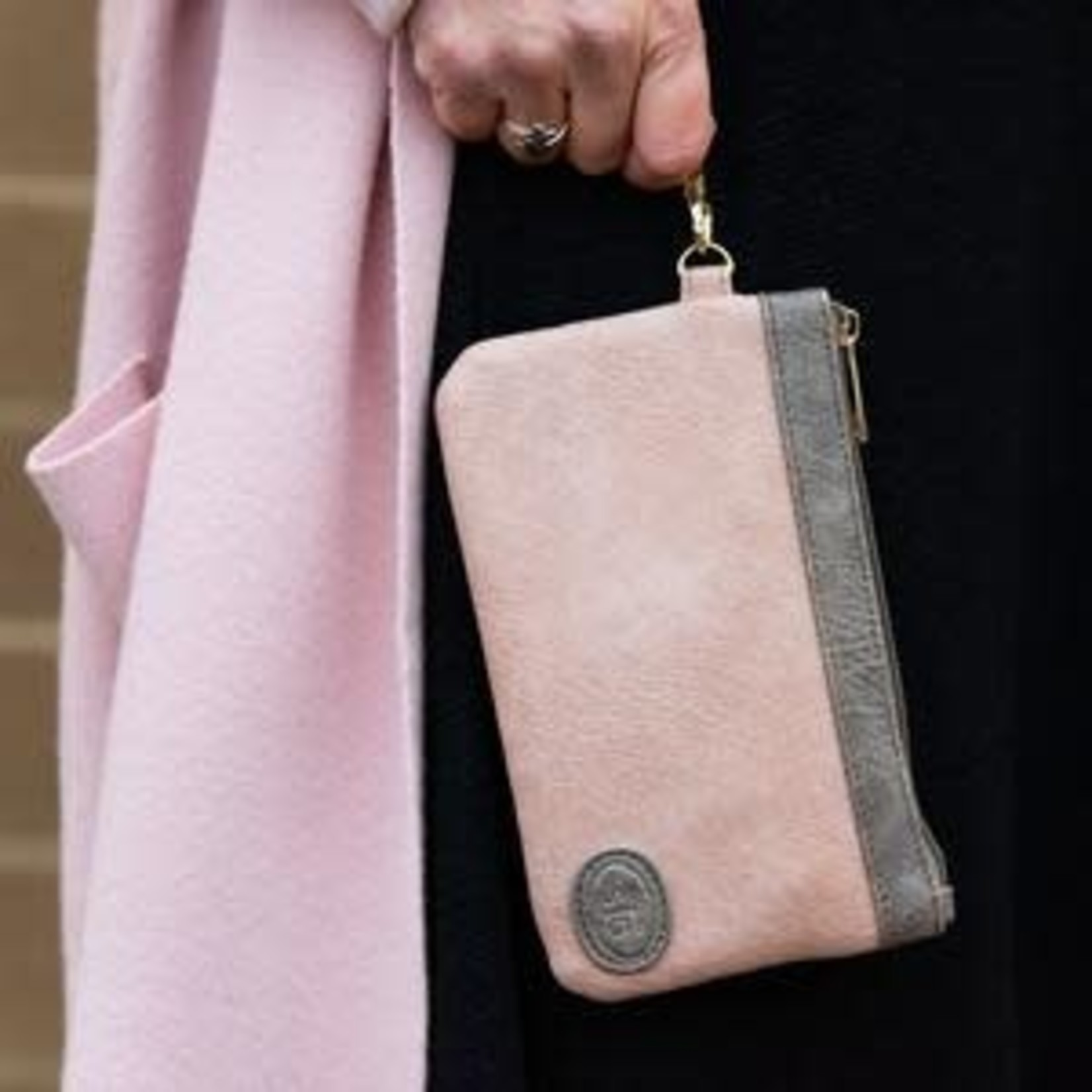 Save The Girls Catchy Clutch - Latte Mist