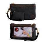 Save The Girls Catchy Clutch - Raven Black