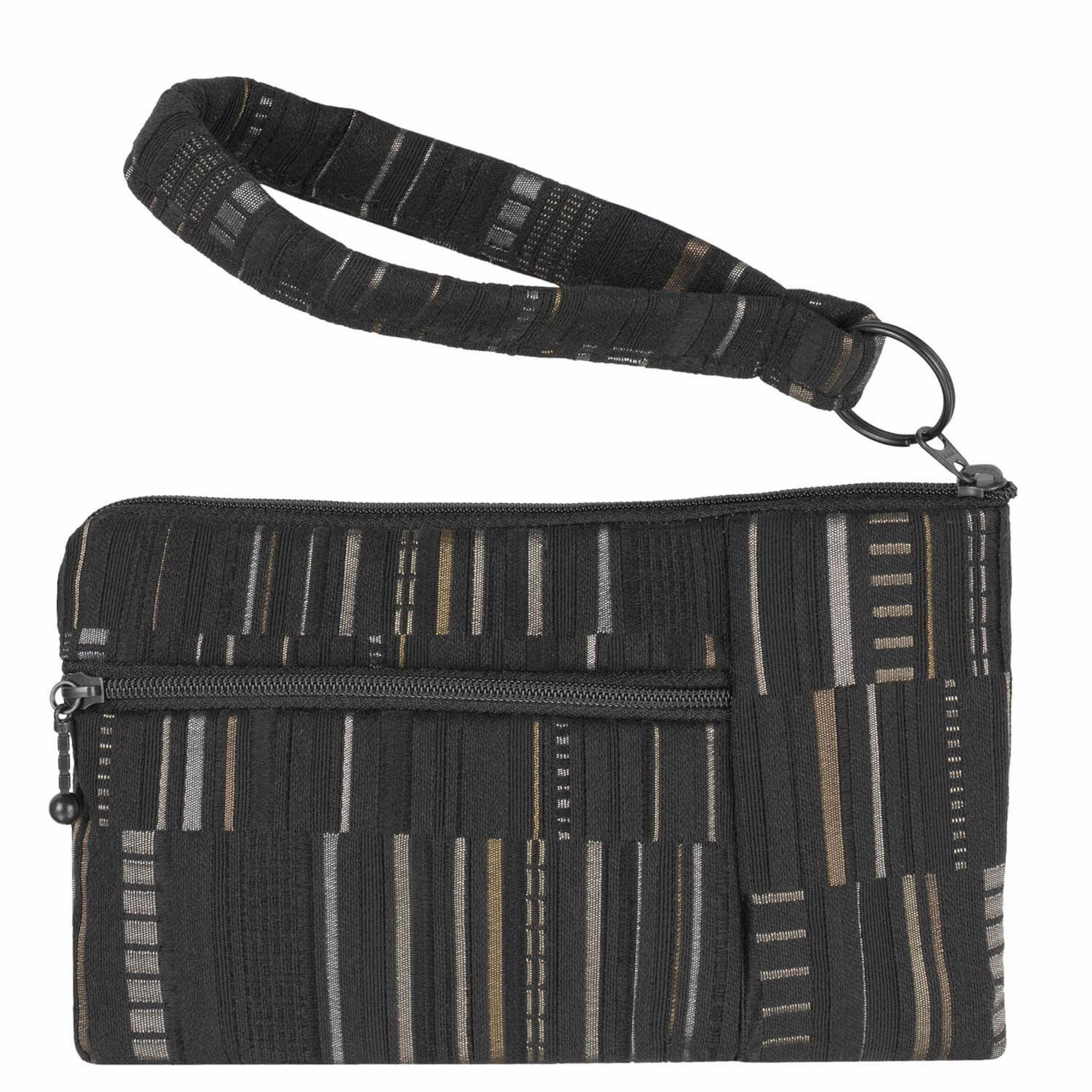 Maruca Beetle Wristlet FW21 - Bark Cloth Black