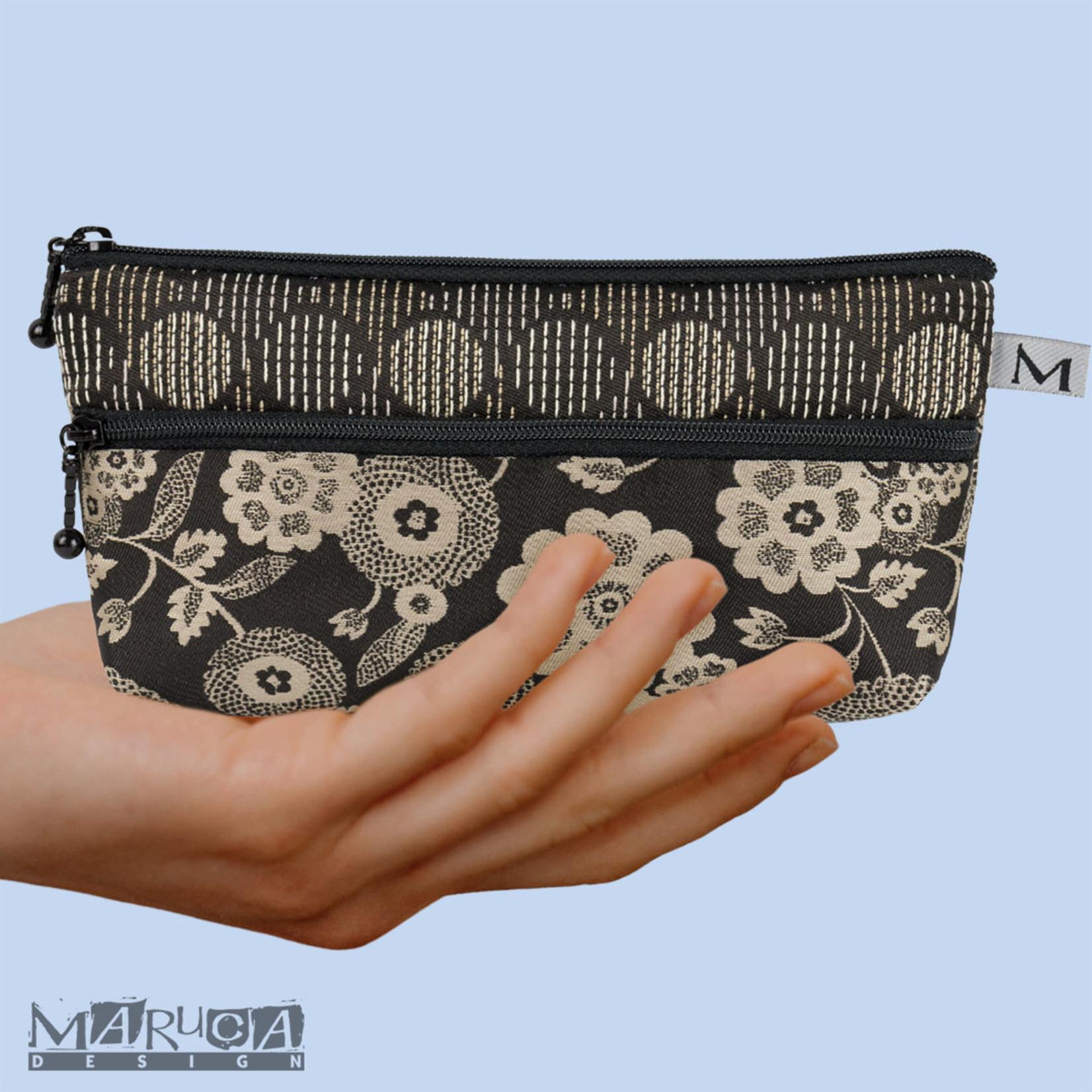 Maruca Heidi Wallet FW21 - Bark Cloth Black