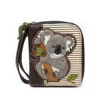 Chala Zip Around Wallet Koala