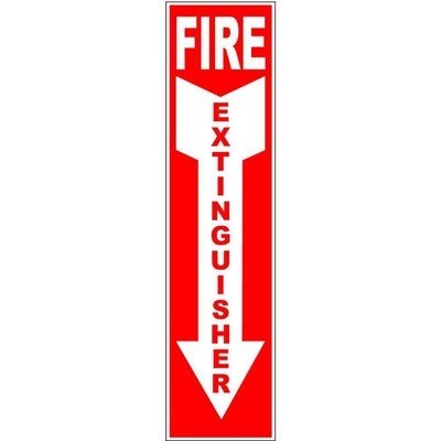 F/E Down Arrow Sign
