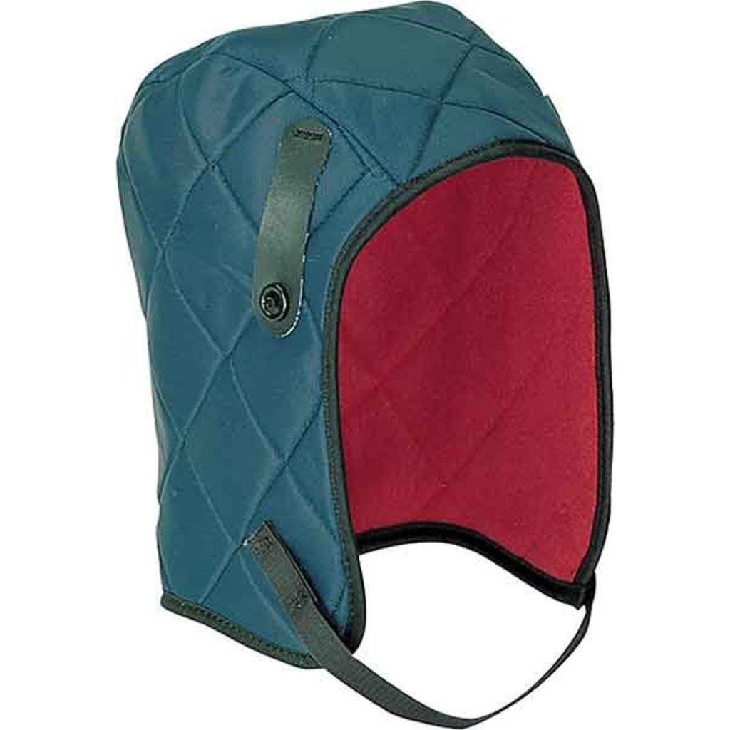 Guard-Line GL3 Quilted Stretch Blue/Green with Fleece Velcro Chin Length Winter Liner