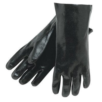 Seattle Glove Black PVC Gloves