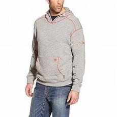 Ariat Men's FR Charcoal Polartec Hoodie
