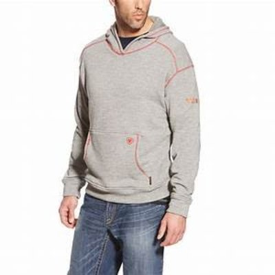 Ariat Ariat Men's FR Charcoal Polartec Hoodie