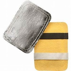 Guard-Line Aluminized Glove Back Pad with Kevlar Bottom
