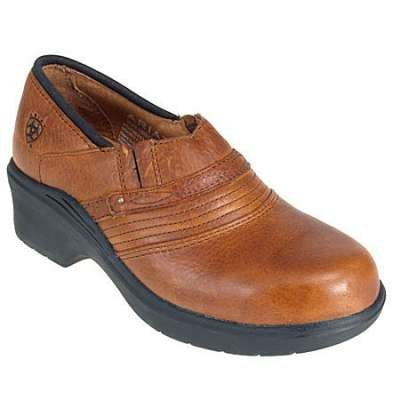 Ariat Women's Brown Clog ST/EH Work Shoe