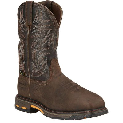 Ariat Men's Workhog Brown CT/MG/EH/WP Work Boot