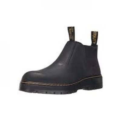 Dr. Martens Men's Rivet Chukka Black ST/EH Safety Shoe