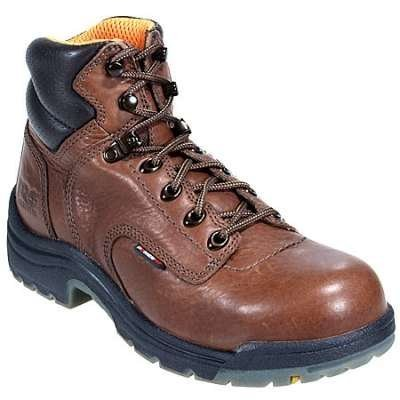 Timberland Women's 6'' Titan Brown ST/EH Work Boot