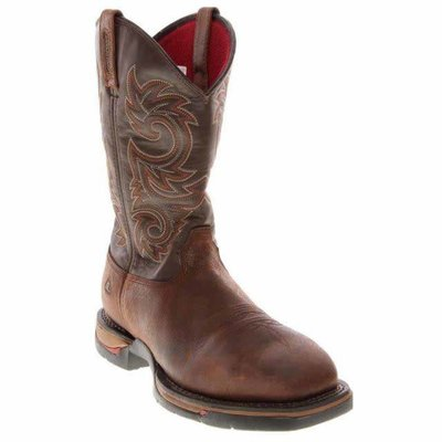 Rocky Brands Men's Long Range Brown ST/EH/EH Work Boot