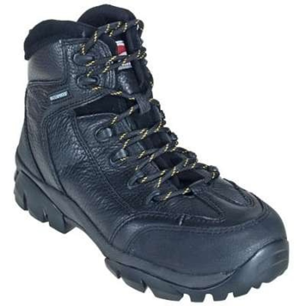 """Avenger Men's 6"""" 7245 Black CT/EH/WP Work Boot"""
