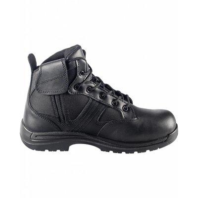 """Avenger Men's 6"""" 7418 Side Zipper Black CT/EH Work Boot"""
