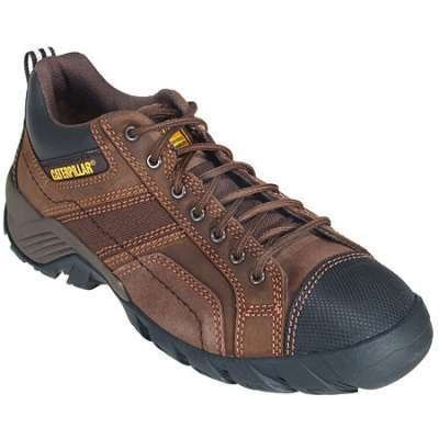 Caterpillar Men's Argon Dark Brown CT/EH Safety Shoe