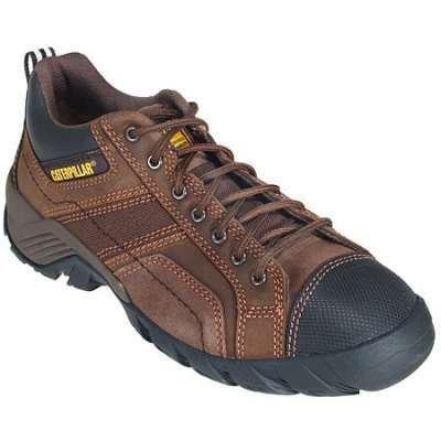 Caterpillar Men's Argon Dark Brown CT/EH Safety Shoe