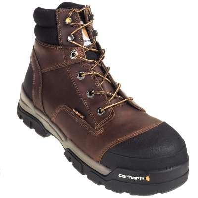 Carhartt Men's 6 inch. Brown Ground Force CT/EH/SD/WP Work Boot