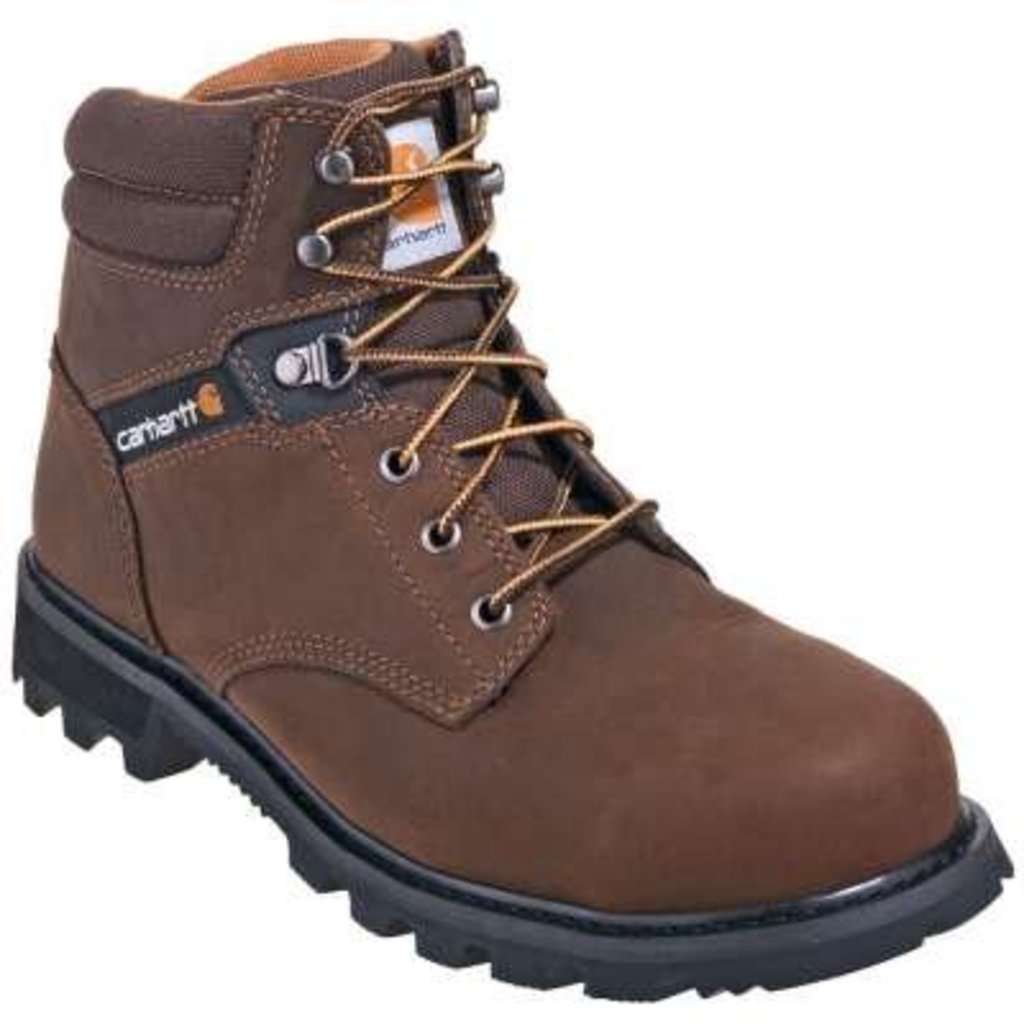 "Carhartt Men's 6"" Brown ST/EH Work Boots"