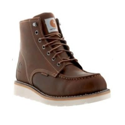 "Carhartt Men's 6"" Wedge Brown ST/EH Work Boots"