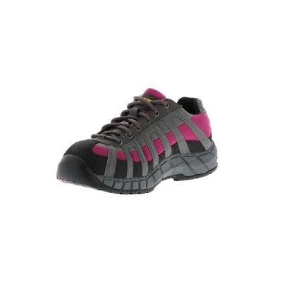 Caterpillar Women's Switch Black/Baton Rouge ST/EH Work Shoe