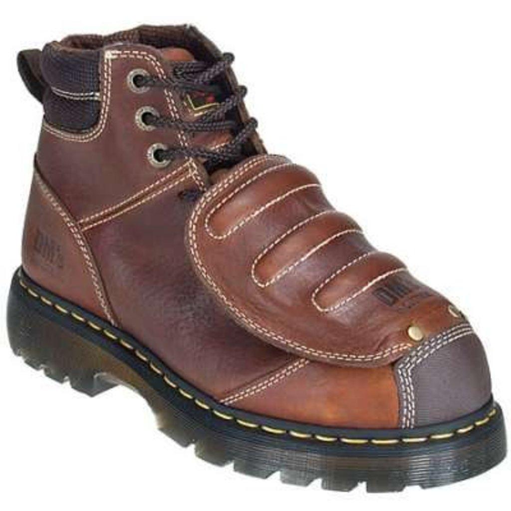 Dr. Martens Men's Ironbridge Teak ST/MG/EH Work Boot