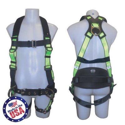 Safewaze Construction Harness - 3D Ring