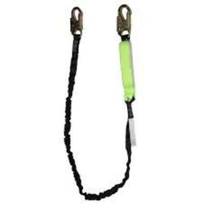 Safewaze Shock Absorbing Lanyard - Stretch Webbing