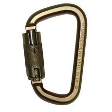 Safewaze Carabineer - Screw Lock, Cadmium Plated Steel