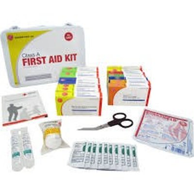 Genuine First Aid Class A Plastic First Aid Kit