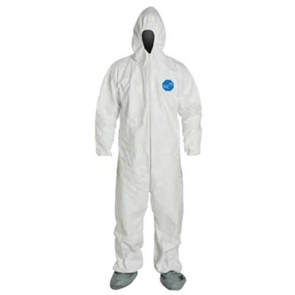 Seattle Glove Disposable Polypropylene Coveralls