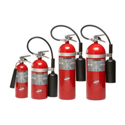 New CO2 Fire Extinguisher
