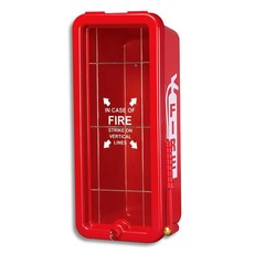 5 lb.Fire extinguisher cabinet