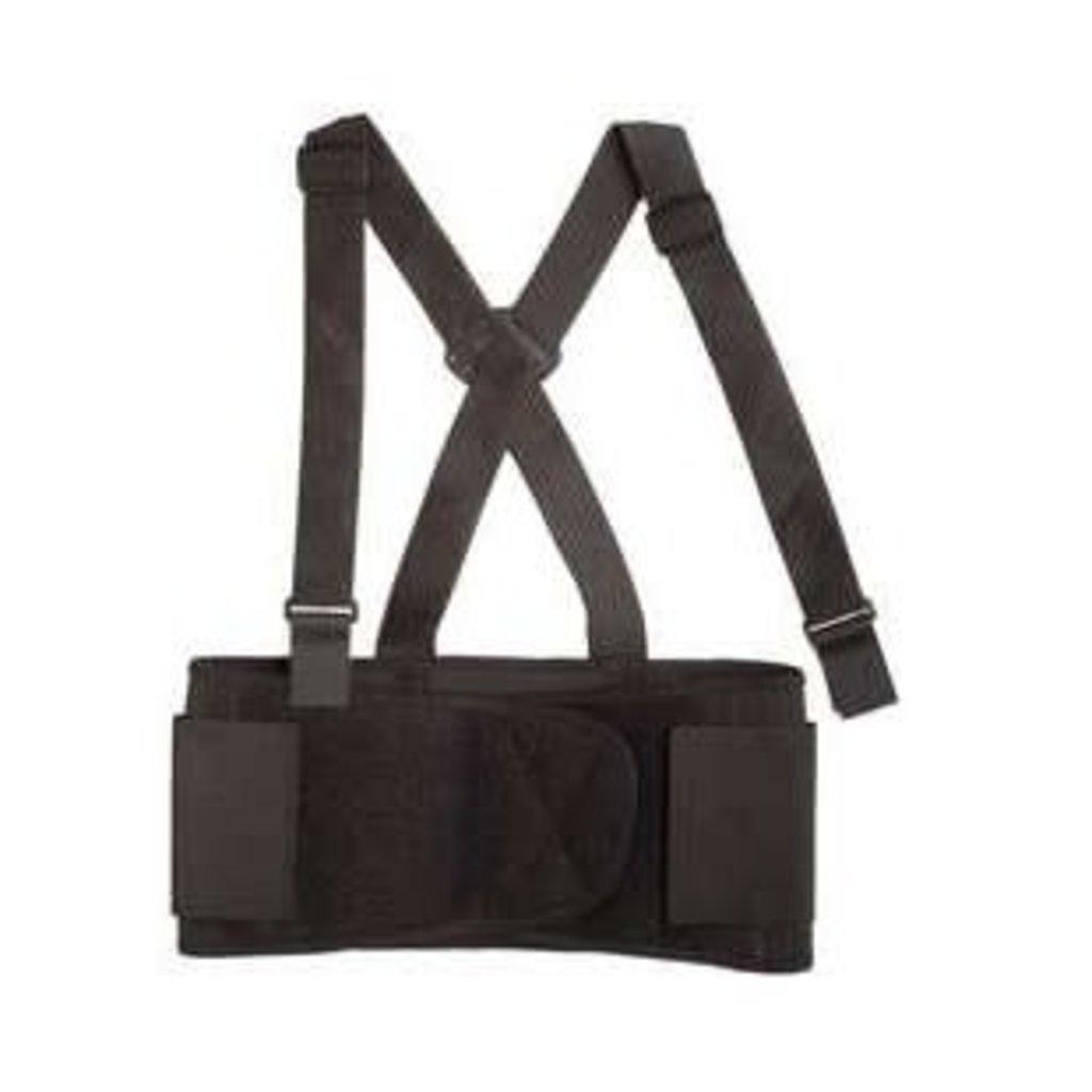 Valeo Elastic Back Belt w/ Suspenders