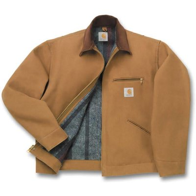 Carhartt Carhartt 12 oz. Brown Duck Jacket