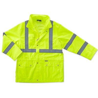 Occunomix Lime Glowear Hi Viz Class 3 Jacket