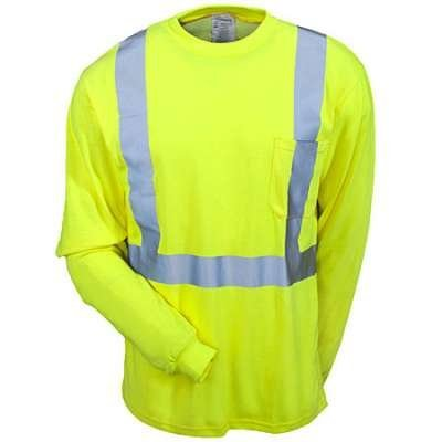 Occunomix Long Sleeve Hi Viz Moisture Wicking Tee Shirt