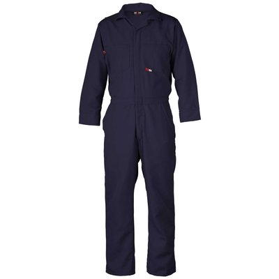 Saf-Tech Men's 4.5oz.Navy Blue Nomex Coverall