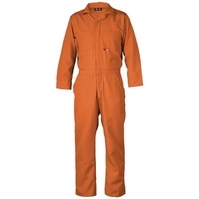 Saf-Tech Men's 4.5oz. Orange Nomex Coverall