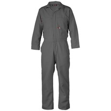 Saf-Tech Men's 4.5oz. Gray Nomex Coverall