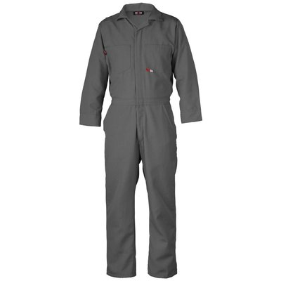Saf-Tech Men's 4.5oz. Gray Nomex Coverall