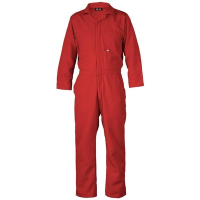 Saf-Tech Men's 4.5oz. Red Nomex Coverall