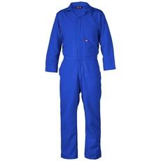 Saf-Tech Men's 9oz. Royal Blue Indura FR Cotton Coverall