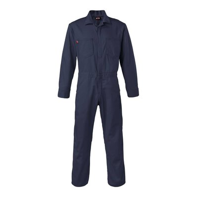 Saf-Tech Men's Navy Blue FR Coveralls