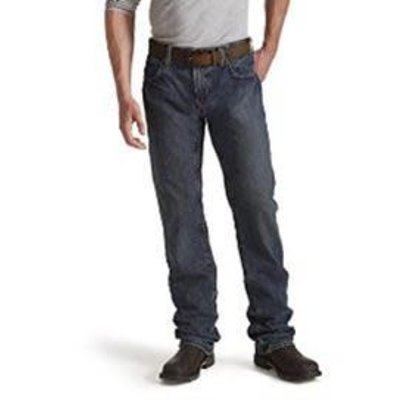 Ariat Men's FR M5 Straight Leg Shale Indigo Jeans