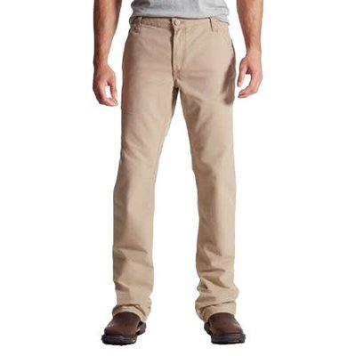 Ariat Men's FR M4 Workhorse Khaki Pants