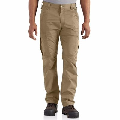 Carhartt Men's FR Khaki Canvas Cargo Pants