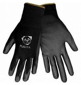 Global Glove Black Polyurethane Coated Nylon Glove
