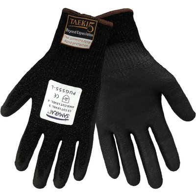 Global Glove Cut 4 Dipped Gloves - Touch Screen Compatible