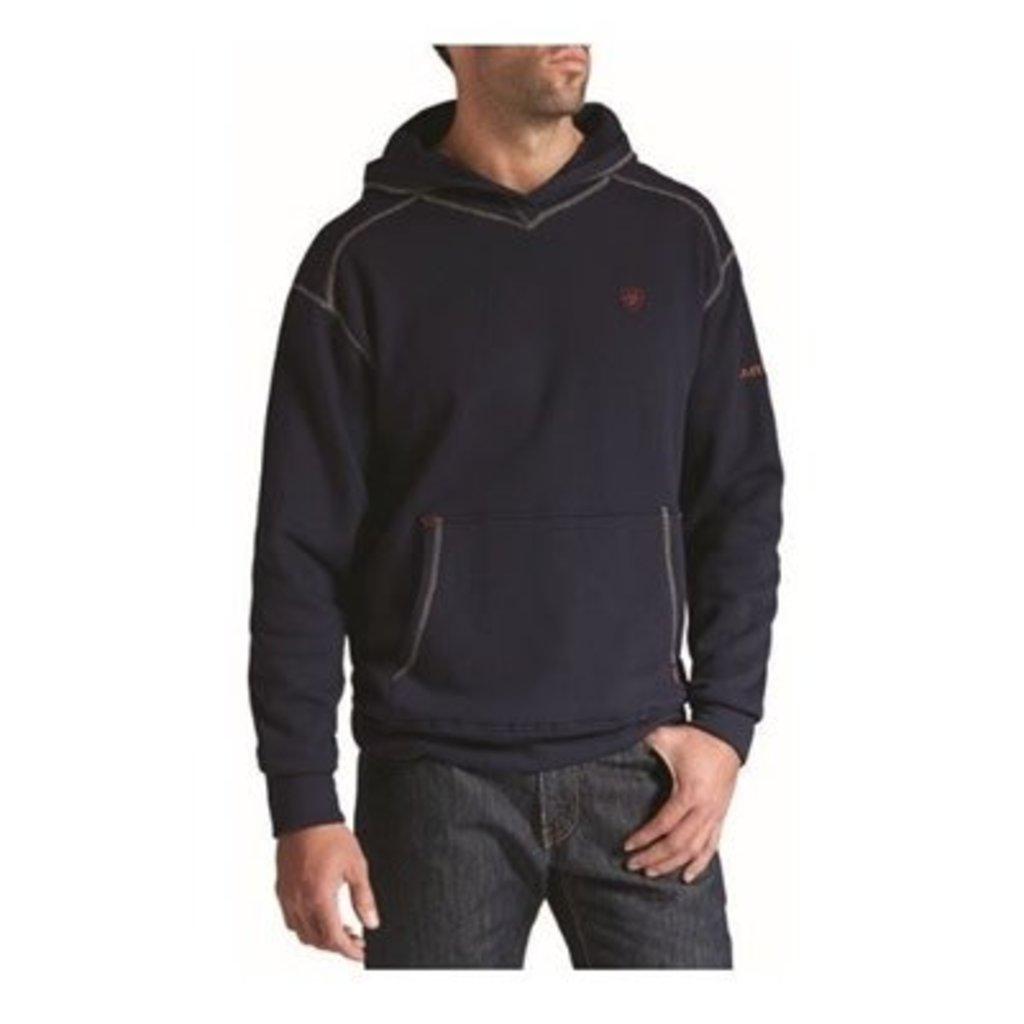 Ariat Men's FR Navy Polartec Hoodie